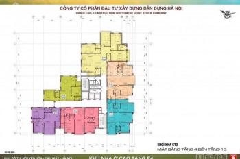 Bán gấp căn hộ 105.7m2 E4 Yên Hòa đầy đủ nội thất đẹp, giá chỉ 37tr/m2, LH 0982.339.666