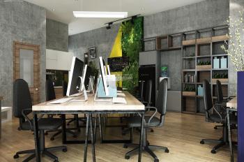 Văn phòng cho thuê 30-120m2, được ĐKKD, có hầm xe, bàn ghế, phòng GĐ. LH 09ll-37-44-66 (P.An Phú)