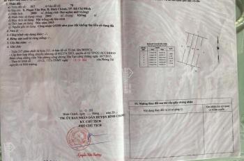 Chính chủ bán đất công sổ đỏ riêng giá 3.5 tỷ/1000m đường An Hạ, xã Phạm Văn Hai, Bình Chánh