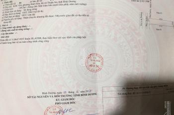 Bán đất tặng dãy trọ TN đều 6 triệu ngay ngã tư 550 - Thuận An giá tốt bán nhanh. LH 0769072979