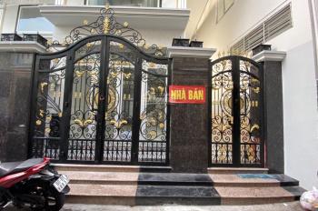 Cần bán căn nhà 1 trệt, 1 lửng, 2 lầu, 1 sân thượng đường Hưng Phú, Q8, nhà mới xây đẹp DT 5x17m