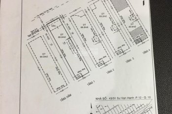Nhà hẻm Sư Vạn Hạnh siêu giảm giá 15.5 tỷ, 4*18m, hầm 4 lầu