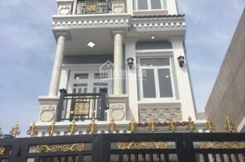 Cần tiền bán nhà 1 trệt 2 lầu ST, 4.06x17m, giá rẻ,  Hà Huy Giáp, Q12, LH: 0906.285295 Phong