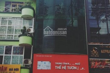 Cho thuê nhà mặt tiền Hùng Vương gần Nguyễn Tri Phương 6m x 16m, trệt, 5 lầu, thang máy