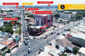 Bán lô góc cổng chính dự án Lộc Phát Residence Thuận An, ngay chợ đêm Hòa Lân