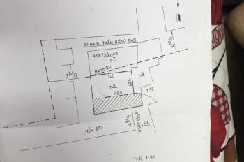 Bán nhà Hẻm 875 Trần Hưng Đạo, P1, Quận 5, 51m2 giá 3.1 tỷ