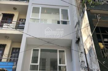Cho thuê nhà hẻm xe hơi, 80/2D Trần Quang Diệu - Quận 3, DT 3,7 x 13m, nhà mới một trệt, ba lầu