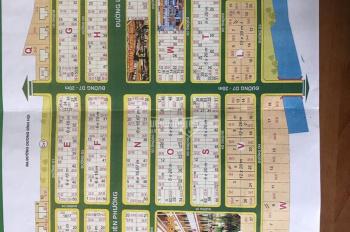 Bán đất dự án Sở VHTT 5 x 20m, giá 43tr/m2, LH 0938.25.28.39 Tân Huyền