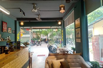 Cho thuê nhà mặt phố Trần Huy Liệu DT 45m2x2 tầng, MT 4.5m, giá: 23tr/tháng. LH: Mr Sơn 0968392334