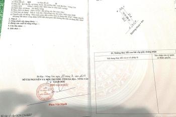 Bán lô đất MT Mỹ Xuân Ngãi Giao, giá trọn sổ chỉ 670tr/109m2, sổ đỏ công chứng ngay 0949665960