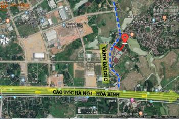 Mở bán 29 lô đất siêu phẩm view hồ cách khu CNC Hòa Lạc chỉ 100m xem ngay