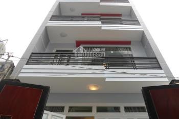 Cho thuê nhà 2 MT Phó Đức Chính, P. Nguyễn Thái Bình, Q.1, DT: 4,5x18m, T+ 4L, giá: 166,958 tr/th