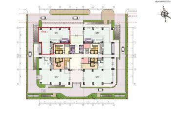 Cho thuê sàn thương mại thông tầng 1 - 2 tổng diện tích hơn 500m2 mặt đường Duy Tân