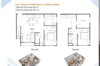 Sang nhượng căn hộ Duplex 3PN dự án PegaSuite 2 giá siêu tốt, trả trước 1.04 tỷ. LH: 0812989292