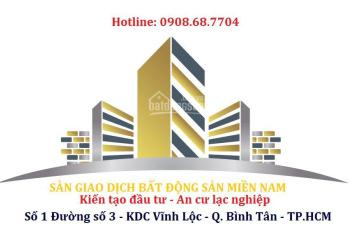 Đất mặt tiền Lại Hùng Cường, Bình Chánh 272m2, giá 10,5 tỷ, tel 0908687704