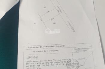 Chính chủ bán lô đất DT 20x20 (có cắt lẻ) tại 480 Lê Duẩn, TP. Plei Ku, Gia Lai. LH: 0776660886