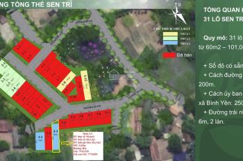 Hàng ngoại giao - 777 triệu/lô đất nền Hòa Lạc - sát CNC - gần đô thị 300ha Vingroup - sẵn sổ
