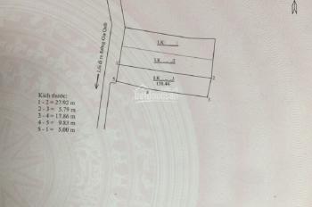 Bán đất đấu giá ngõ 264 Ngọc Thụy dt 158m2 hướng tây bắc giá 5,5 tỷ