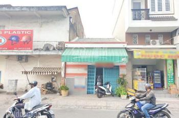 Nhà mặt tiền Võ Văn Kiệt tiện kinh doanh, (5x12m) vuông vức, nhà nát tiện xây mới, có hẻm sau 4m