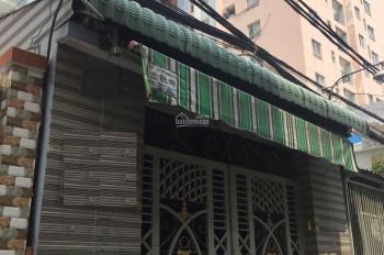 Nhà HXH Hậu Giang gần chung cư Him Lam, (4x24m, nở hậu 4,4m), 1L mới đẹp, khu dân trí cao