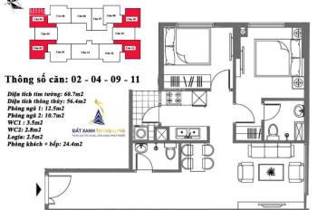 cần bán gấp căn góc M6 View thành phố đẹp, tầng đẹp giá chỉ 17.5tr có thương lượng 0984203383