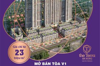 Bán chung cư giá rẻ The Terra An Hưng, 3PN, 89m2 giá 2,1 tỷ đồng. Ck 8%. HTLS 0% trong 24 tháng