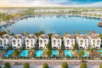 Mở bán độc quyền 4.399m2 đất mặt hồ 12 ha tự xây tại Vinhomes The Harmony Long Biên