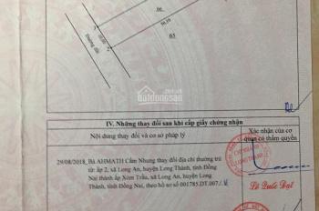 Kẹt tiền bán gấp đất chính chủ vị trí đẹp xã Long An, Long Thành, Đồng Nai