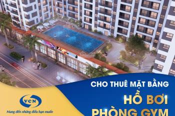 Cho thuê mặt bằng làm phòng tập GYM và hồ bơi tại tòa nhà CT2-VCN Phước Hải