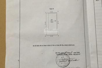 Bán mảnh đất đẹp ở Quan Hoa, Cầu Giấy. Diện tích 68m2, mặt tiền 5.5m, ngõ thông thoáng