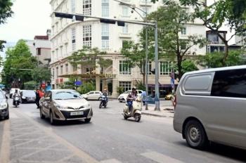 Tòa nhà mặt phố Bà Triệu góc 2 phố 108m2 8T MT 6.5m, giá 48 tỷ, LH: Mr Quốc 0974292443