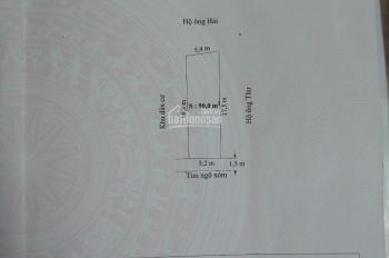 Bán lô đất Vân Tra 90m2, An Đồng, An Dương, Hải Phòng. LH: 092.11.88.111