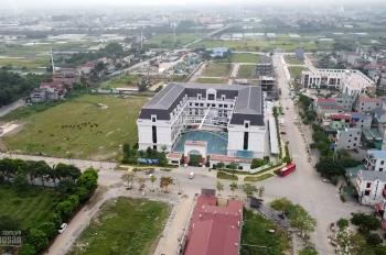 Bán đất Bắc Hồng Đông Anh Hà Nội, DT 48,5m2 lô góc 2 mặt thoáng