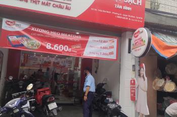 Bán nhà mặt tiền chợ Bà Hoa ( Tân Bình ) . Liên hệ 0908051983