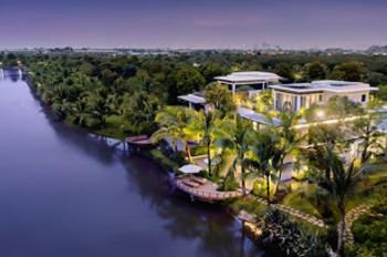 Suất ngoại giao biệt thự mặt hồ CK 4.3 tỷ, cam kết 40 - 55 tr/tháng - Flamingo Đại Lải Resort
