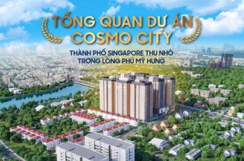 Mở bán căn hộ Cosmo City chỉ TT 30% nhận nhà, còn lại TT 30 tháng không LS, sổ hồng trao tay