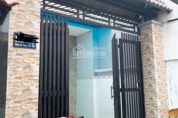 Bán nhà đường Dương Bá Trạc P2 Q8. Nhà đẹp ngang 3.6x16m, 1 trệt 1 lầu có 1 PK, 1 bếp, 2 PN, 2 WC