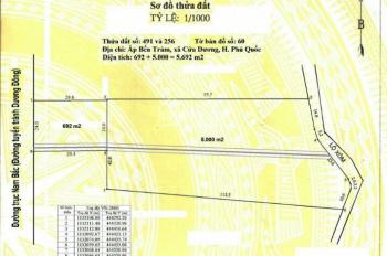 5,7 Công mặt tiền đường 24 m đường trục chính Nam Bắc - tuyến tránh, hai mặt tiền đường