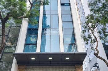 Bán tòa nhà mặt phố Khúc Thừa Dụ, Trần Đăng Ninh, Cầu Giấy 9T x 60m2, MT 5.5m. Giá 33.5 tỷ
