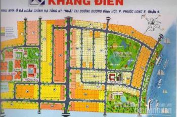 Suất nội bộ KDC Khang Điền Intresco, Q9 CSHT hoàn thiện, có sổ hồng riêng, giá TT 1.7 tỷ/100m2