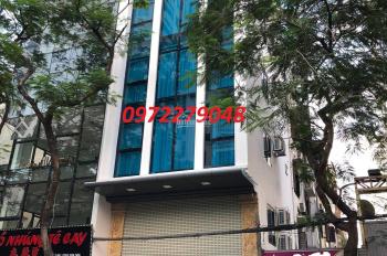 Mặt phố Nguyễn Tuân 57m2, MT 6m, mới 8 tầng, thang máy, đường hè 40m, hướng TN, 25 tỷ. 0972279048