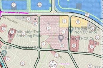 Càn tiền bán lô đất siêu đẹp cho các nhà đầu tư hoặc mua ở đối diện hồ 2 mặt đường giá chỉ 57tr/1m2