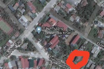 Chính chủ bán lô đất ngay mặt tiền Triệu Quang Phục, tiểu khu 7 Nam Lý tiện kinh doanh 0917433553