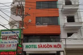 Khách sạn mặt tiền Nguyễn Súy (6,4 x 19,5 nở hậu 7,6m lửng, 4 lầu, sân thượng)