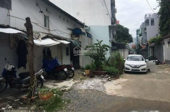 Nhà nát hẻm xe hơi Kinh Dương Vương 1 sẹc, (4x17m), vuông vức, có hẻm sau