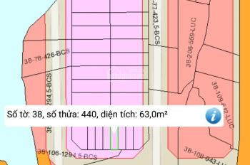 Bán nhanh TĐC xã Đại Phước, nền 63m2, giá rẻ nhất KV