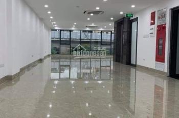 Cho thuê nhà Vũ Phạm Hàm, Trung Hòa, Cầu Giấy. Diện tích 130m2 * 5,5 tầng, mặt tiền 6m, giá 80tr/th