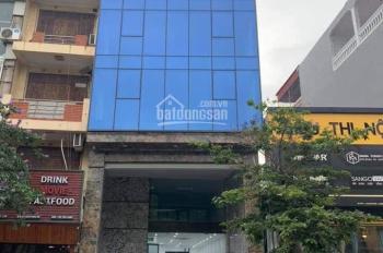 Cho thuê nhà mặt phố Tây Sơn, Đống Đa, Hà Nội. DT 140m2 x 8 tầng + 1 hầm, MT 8m, giá 140tr/th