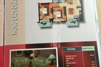 Bán căn hộ An Cư khu AP AK Quận 2: Căn góc 90m2, 2PN, view Tây Nam, nội thất CB, 3.33 tỷ bớt Lộc