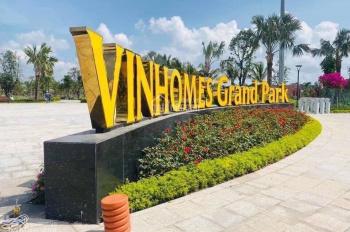 Booking Vinhomes Grand Park Quận 9 nhiều sản phẩm đa dạng giá chỉ từ 1,3 tỷ